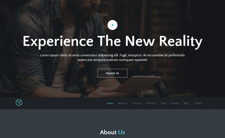 Free Responsive HTML5 Business Template
