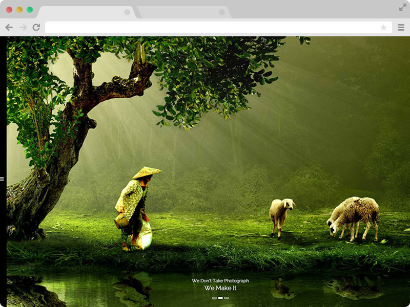 The Best Free Responsive Photography HTML5 Template