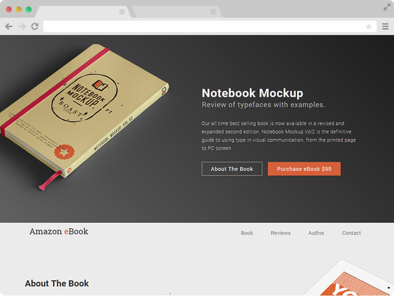 Free Book Selling HTML5 Template