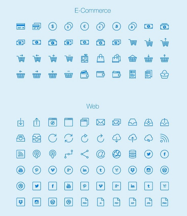 free download high quality outline icons