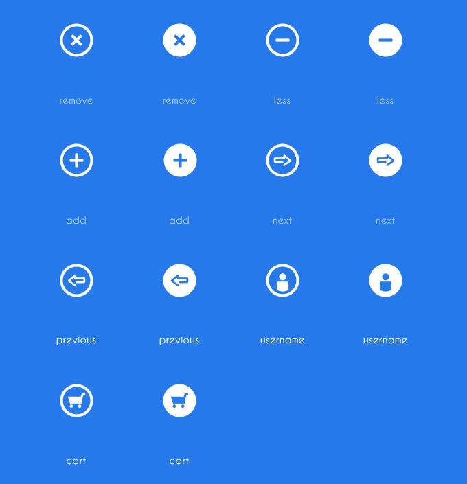 free download shop icons on behance