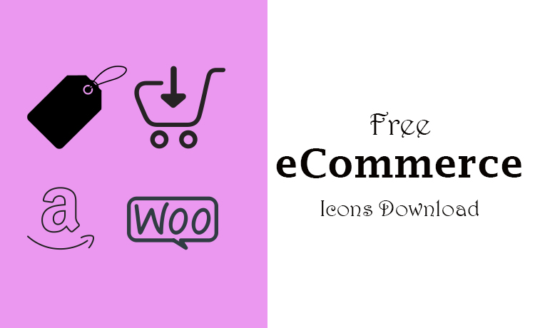 free eCommerce icons download