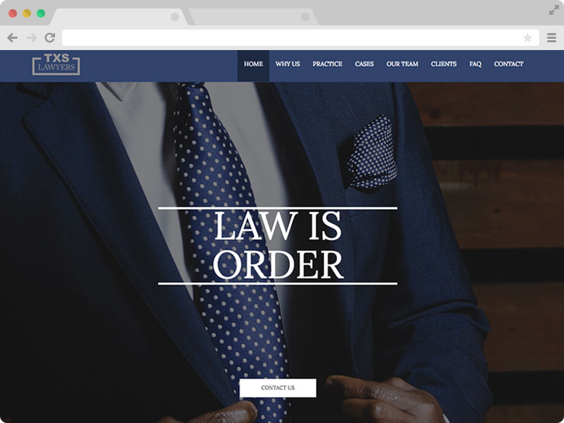 Lawyer Attorney Website Bootstrap Template Free Download