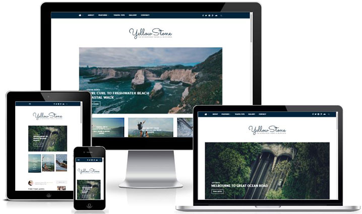 Premium WordPress Blog Theme