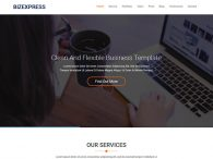Free One-Page Bootstrap HTML5 Template for business