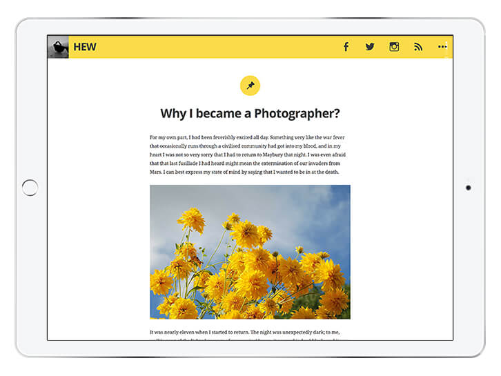 hew---wordpress-theme-for-a-beautiful-blog