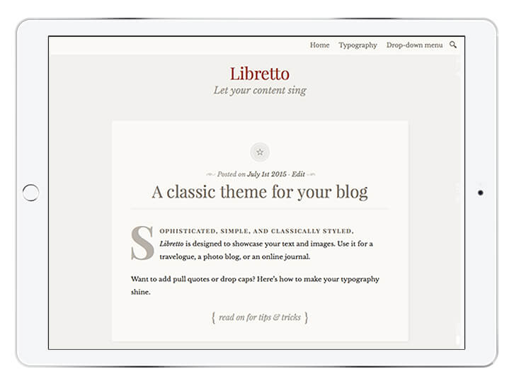 libretto---wordpress-theme-for-a-beautiful-blog