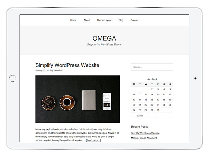 omega---wordpress-theme-for-a-beautiful-blog