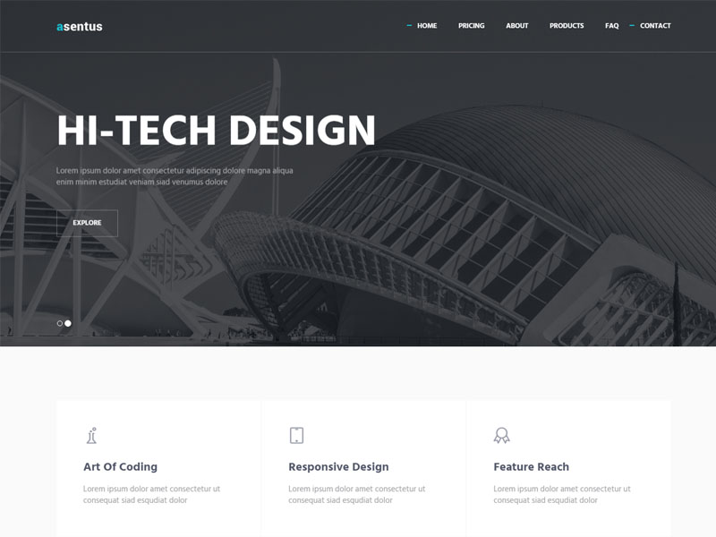 free responsive bootstrap corporate agency HTML5 template