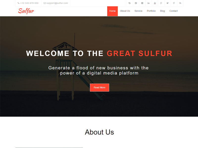 free multipage multipurpose bootstrap template