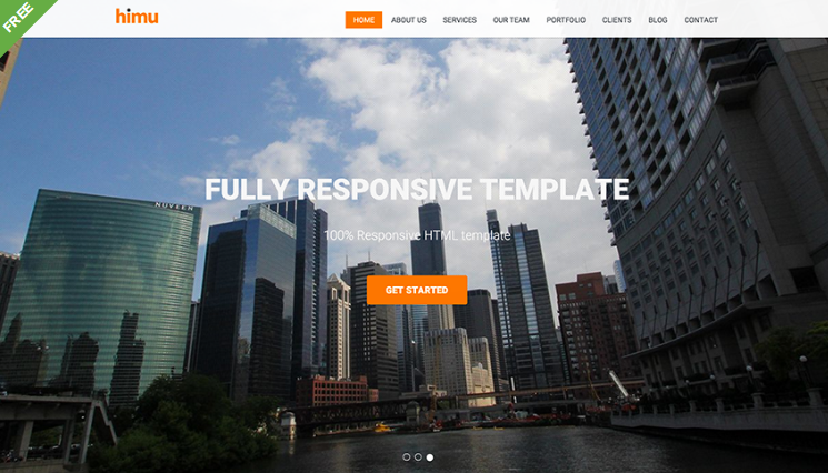 Free Responsive HTML5 Agency Template