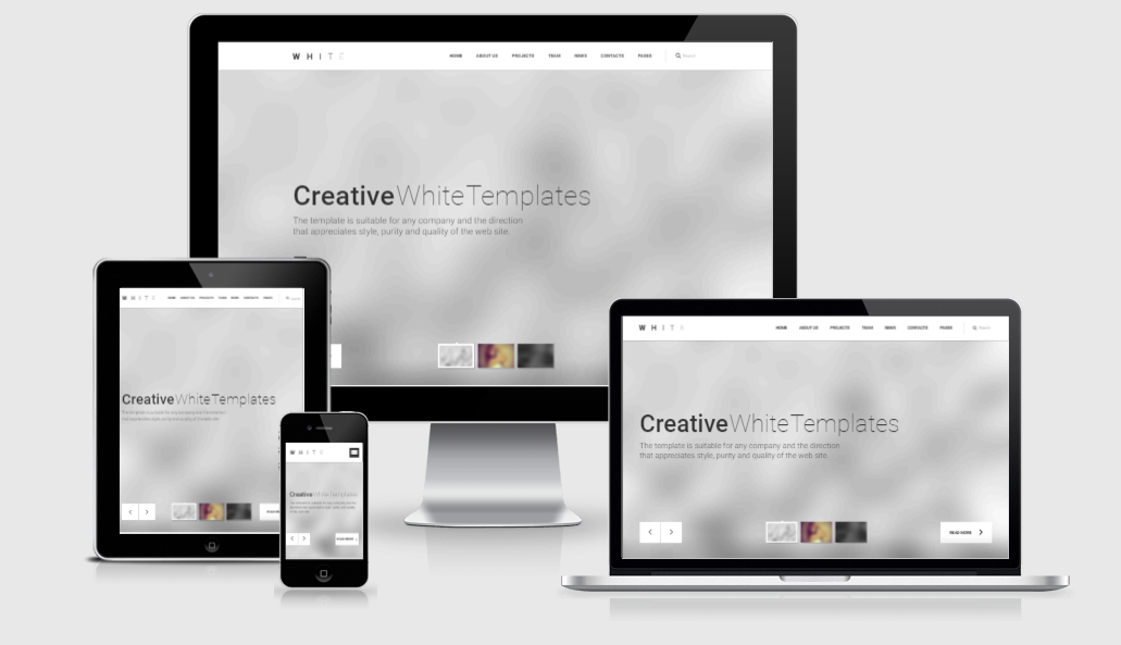 White Pro - Free responsive template
