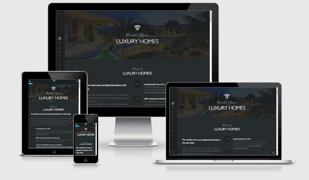 Luxury - Free responsive template