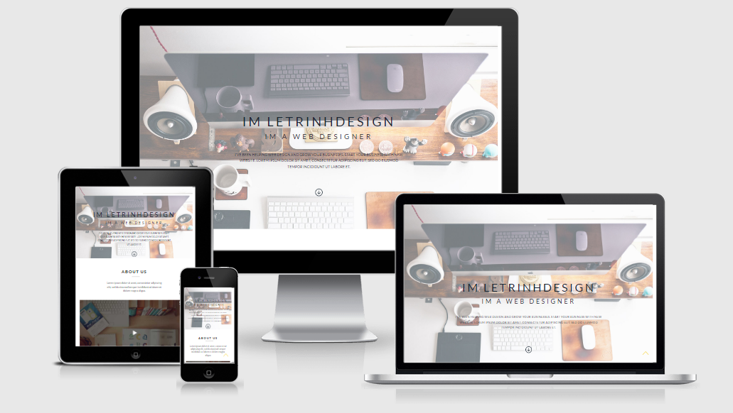 Letrinh - Free responsive template