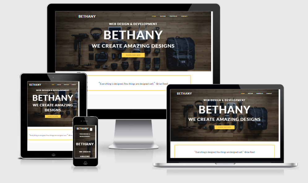 Bethany - Free responsive template