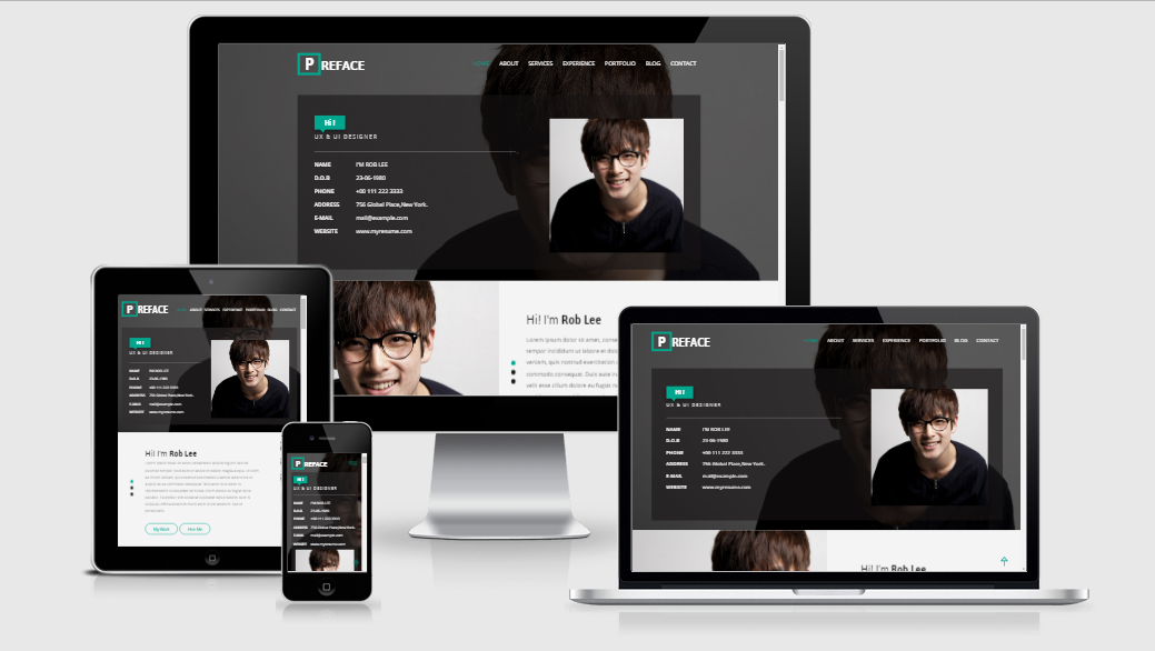 Preface - Free responsive template