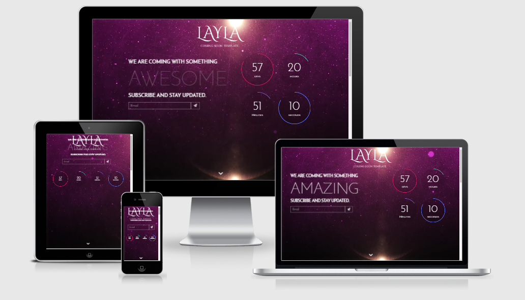 Layla - Free responsive template