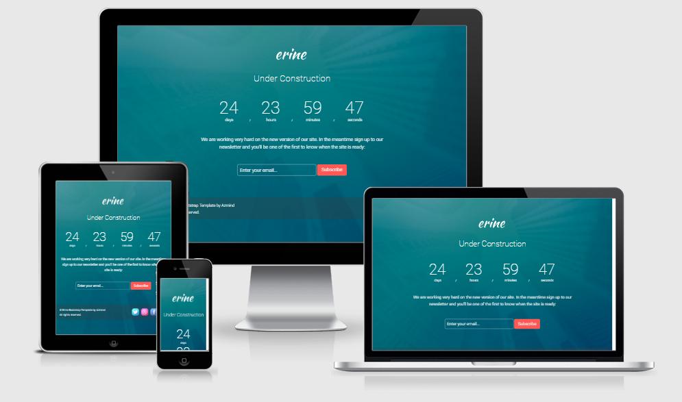 Erine- - Free responsive template