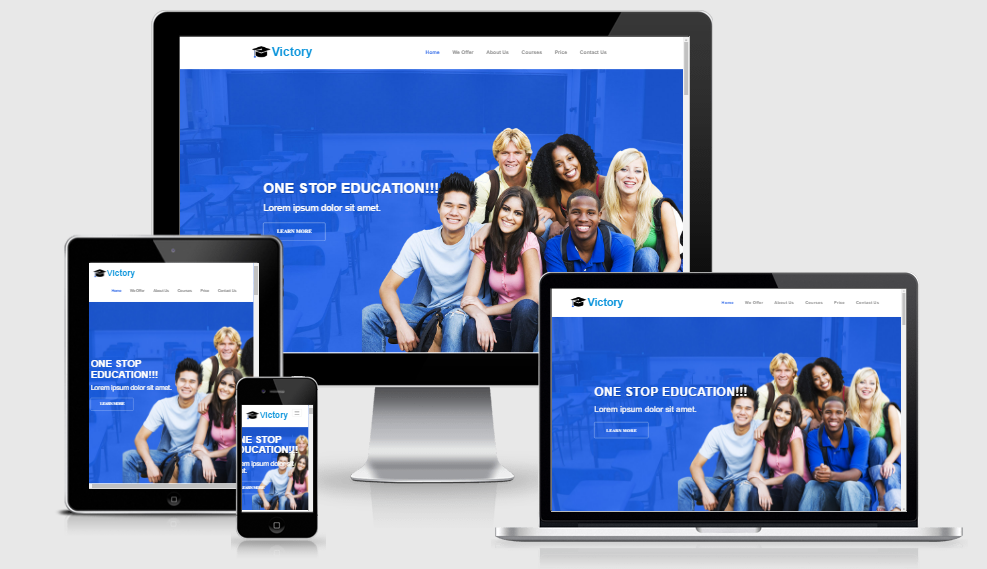 Victory - Free Responsive Template