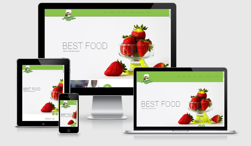 Mammas Kitchen - Free responsive template