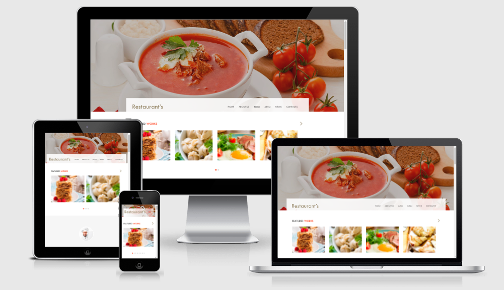 Spicy - Free responsive template
