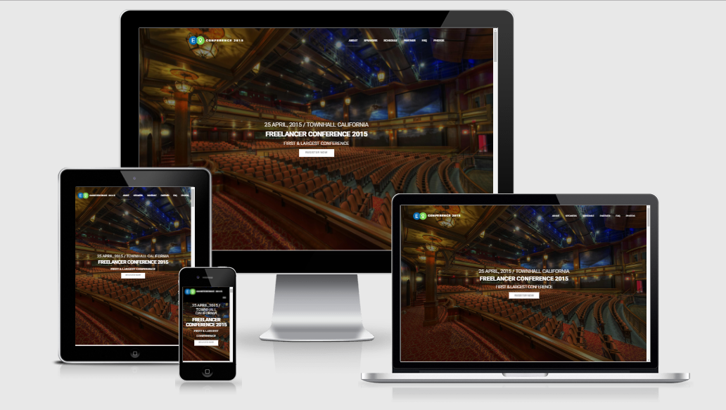 Conference-Lite - Free responsive template