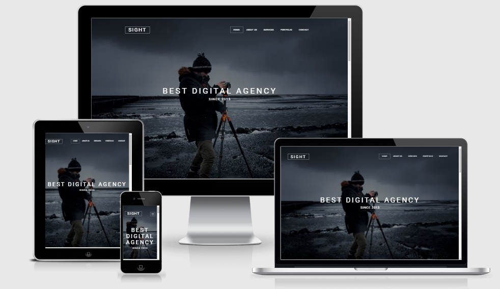 Sight Lite - Free responsive template