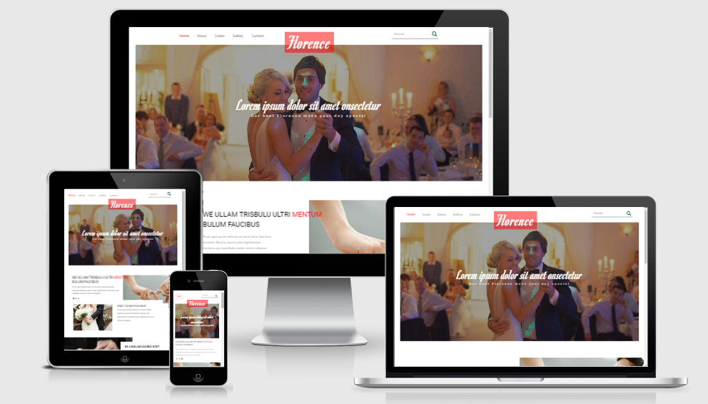 Florence - Free Responsive Template