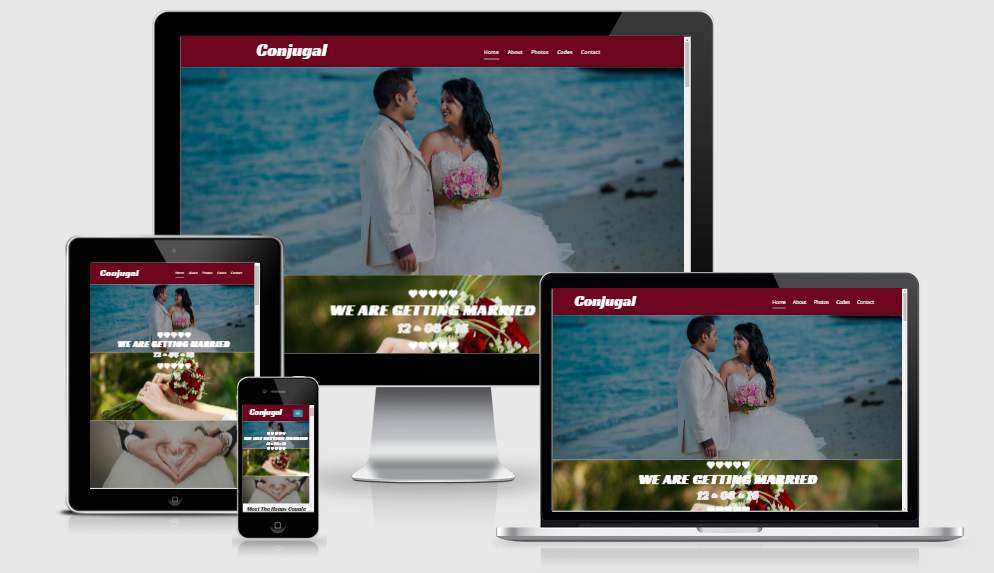 Conjugal - Free Responsive Template