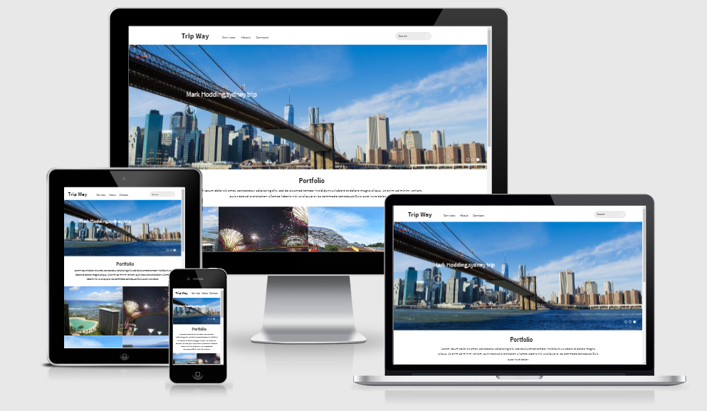 Trip Way - Free Responsive Template