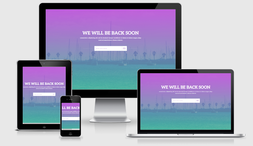 Notify - Free responsive template