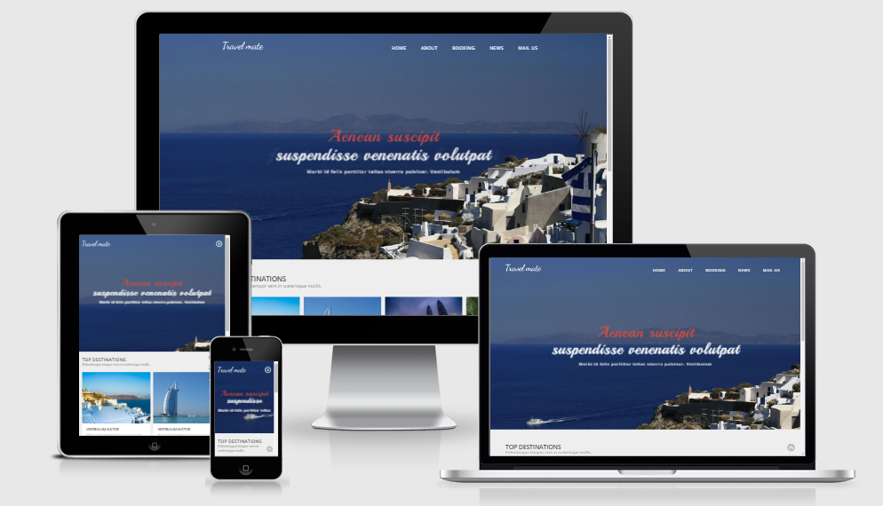 Travel Mate - Free Responsive Template