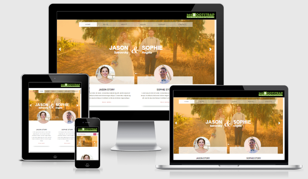 Your Wedding - Free Responsive Template