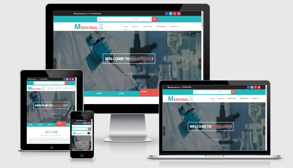 Medicinal - Free responsive template