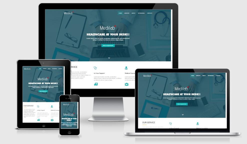 Medilab - Free responsive template