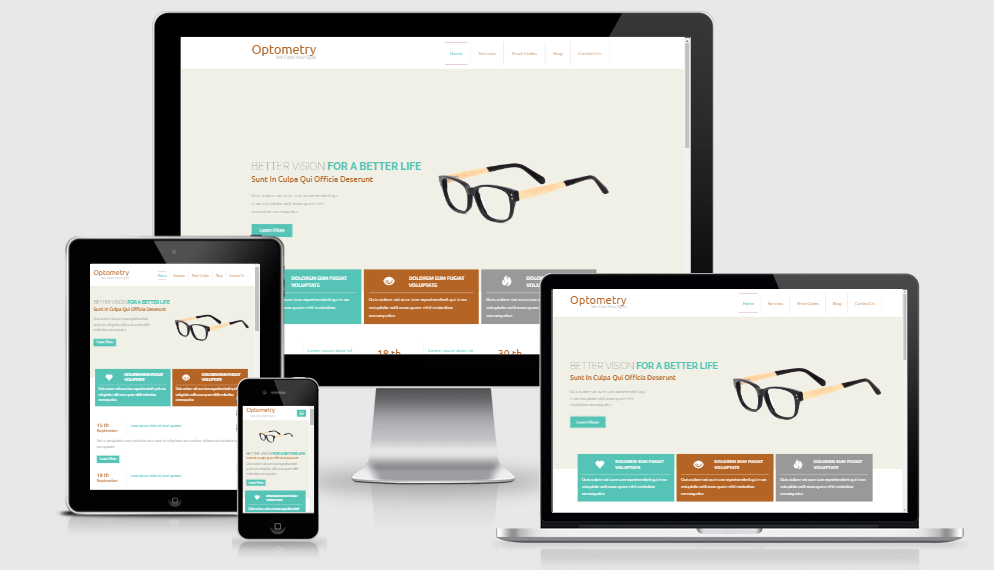 Optemtry - Free responsive template