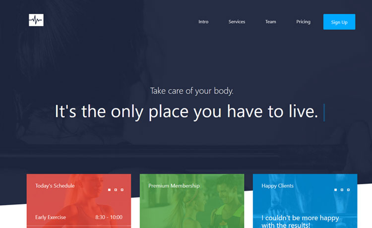 Responsive One Page Multipurpose Bootstrap Template Free Download 2017