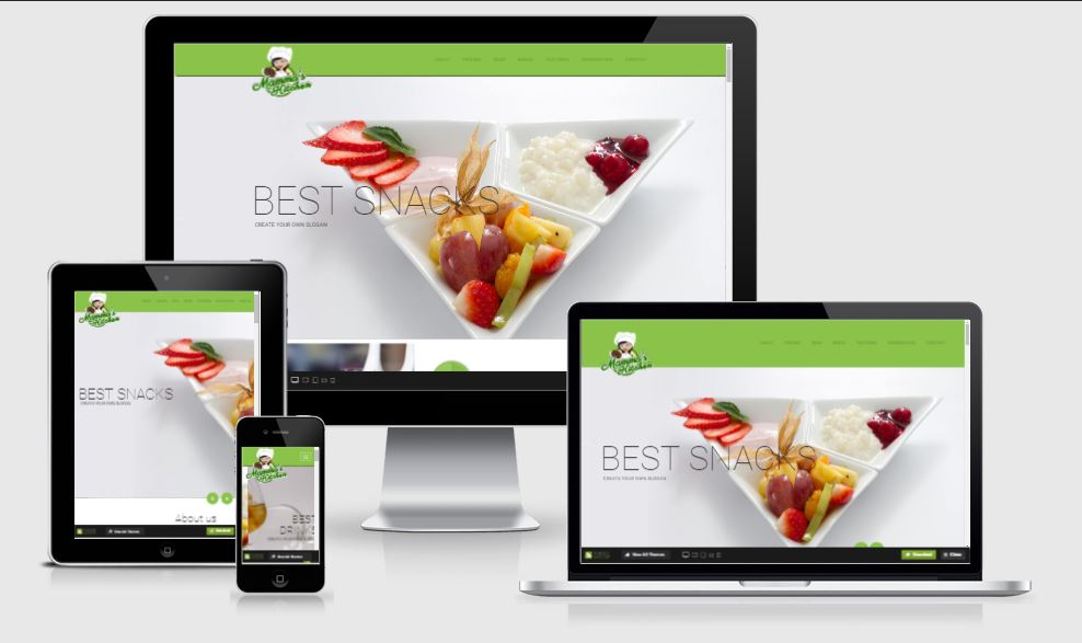 Mammas Kitchen HTML5 Bootstrap based free restaurant template download