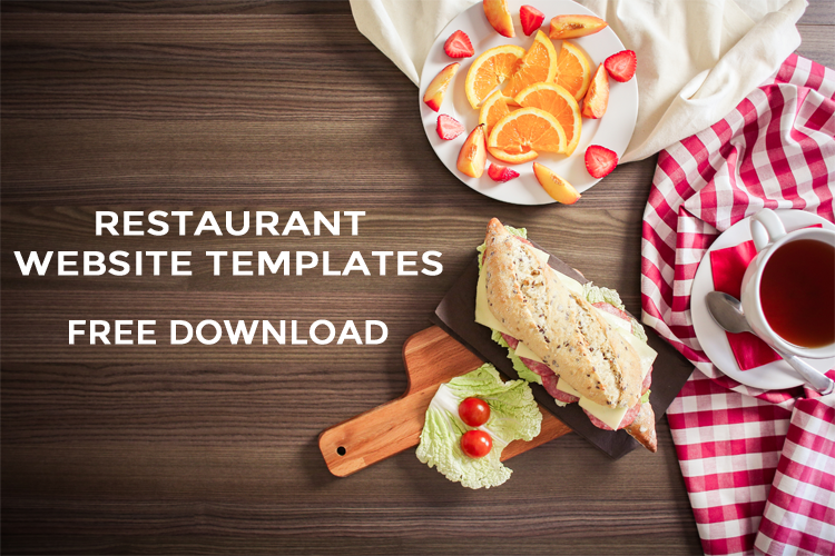Responsive Restaurant Templates Free Download 2017
