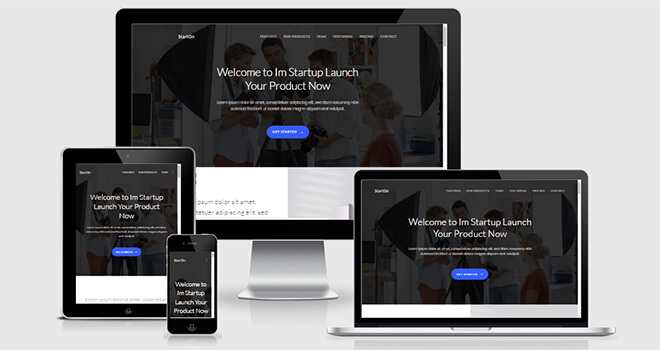 Free Responsive HTML5 Bootstrap Template