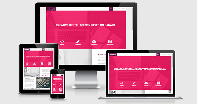011. Monkey Digital free responsive bootstrap