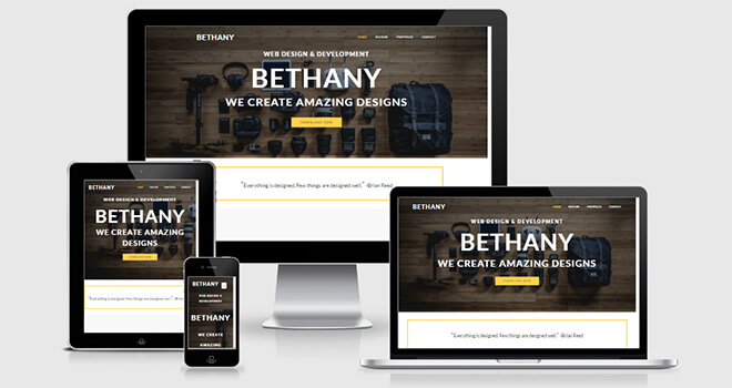 038. Bathany free responsive bootstrap template