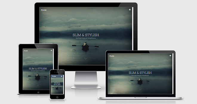 045. Flux free responsive bootstrap template