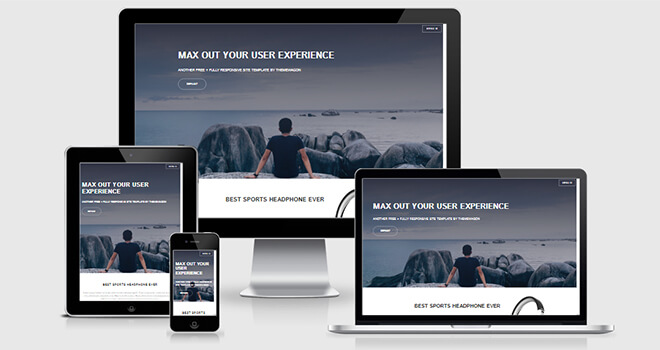 050. Solid State free responsive bootstrap template