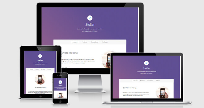 053. Steller free responsive bootstrap template