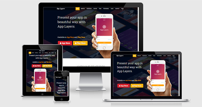 059. AppLayer free responsive bootstrap template