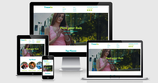 076. Travelia free responsive bootstrap template