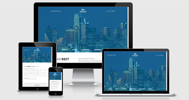 079. Miami free responsive bootstrap template