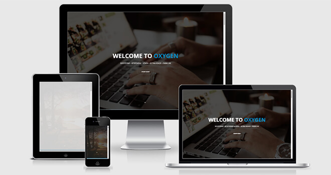 091. Oxizen free responsive bootstrap template