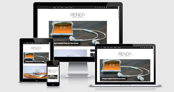 092. Renda free responsive bootstrap template